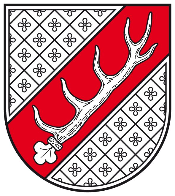 Coat of Arms of Cröchern, Part of Burgstall, showing a diaper pattern. By Günther Gembalski (Wappen vom LHA Magdeburg erhalten) (Public domain), via Wikimedia Commons.