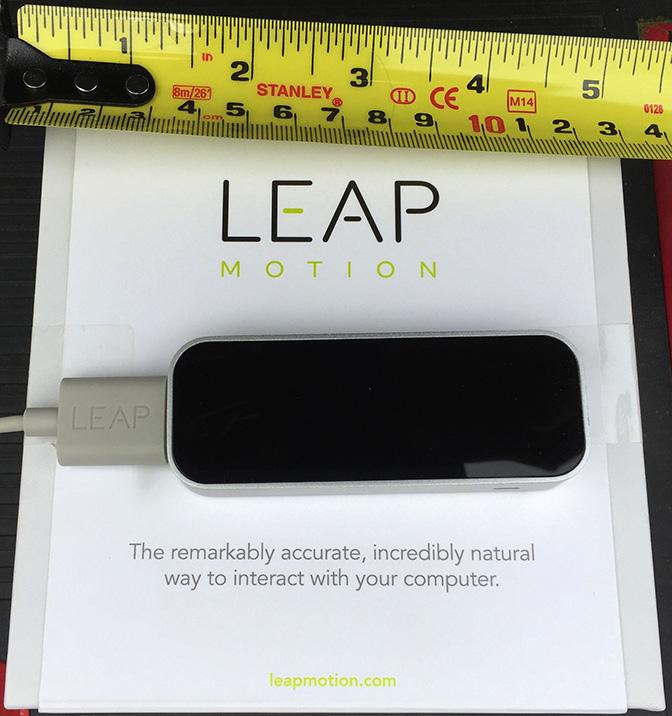 Leap Motion. © 2015 EHN & DIJ Oakley.