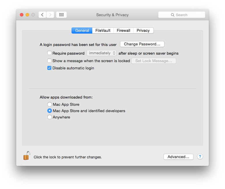 If you cannot start an app, OS X may be blocking it for security reasons.