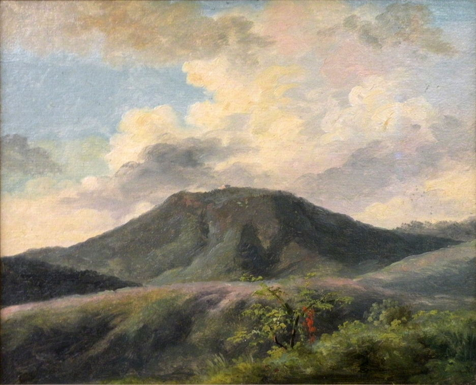 Pierre-Henri de Valenciennes, (Title not known) (c 1783), oil on paper laid on canvas, c 18 x 25 cm, Musée du Louvre, Paris. © 2015 EHN & DIJ Oakley.