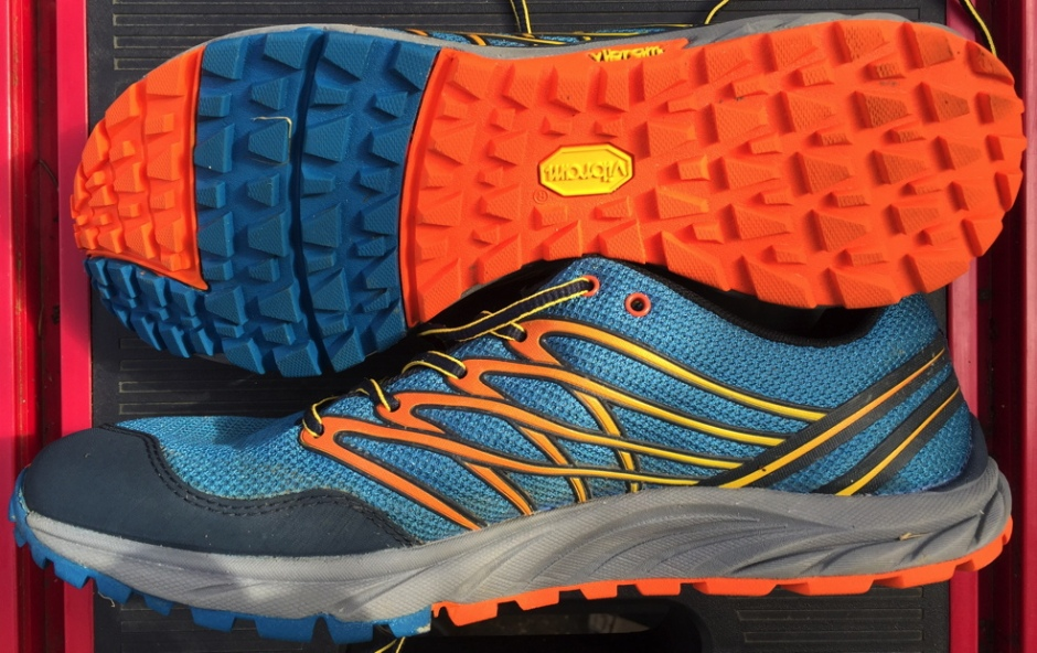 My Merrell Bare Access Trail shoes. Zero drop, barefoot, and supremely comfortable gloves for the feet.