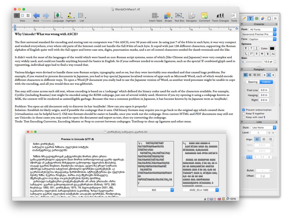 Niseis Writer Pro has excellent book and other power tools, and is ideal for multi-language documents.