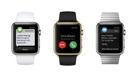Apple Watch Sport, Watch Edition, and Watch: which did you choose? Photo courtesy of and © Apple.