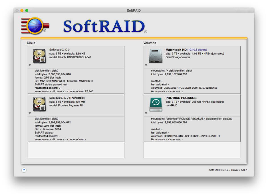 SoftRAID is an excellent alternative to AppleRAID, for making a software RAID set.