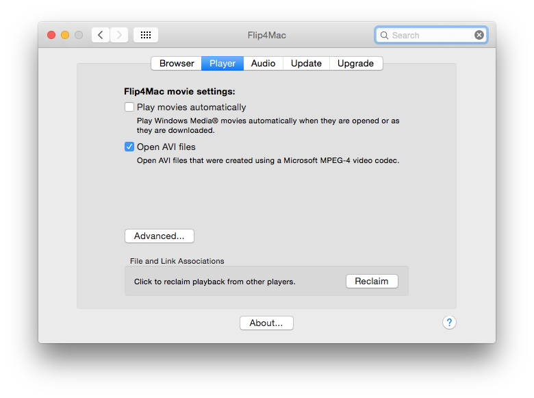 Flip4Mac handles older WMV movies, but you will need to buy an upgraded version to be able to convert them.