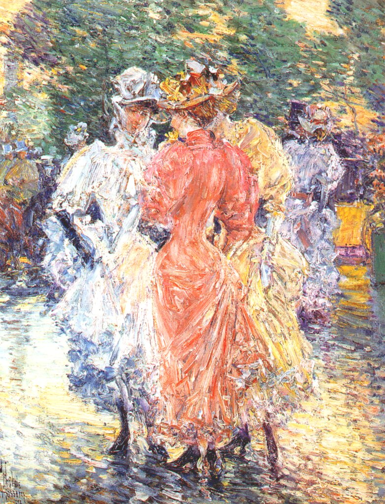 "paper on childe hassam Childe hassam has been a well-known american impressionist artist in america and europe called the ""american monet"" hassam was famous for his early."