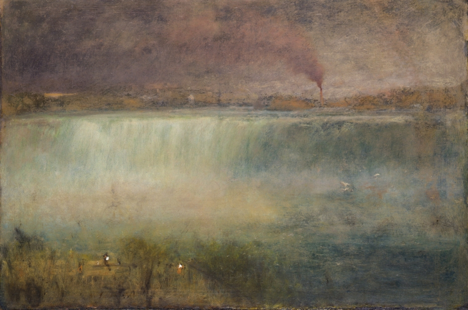 George Inness, Niagara (1889), oil on canvas, 76.2 x 114.3 cm, Smithsonian American Art Museum, Washington, DC. Wikimedia Commons.