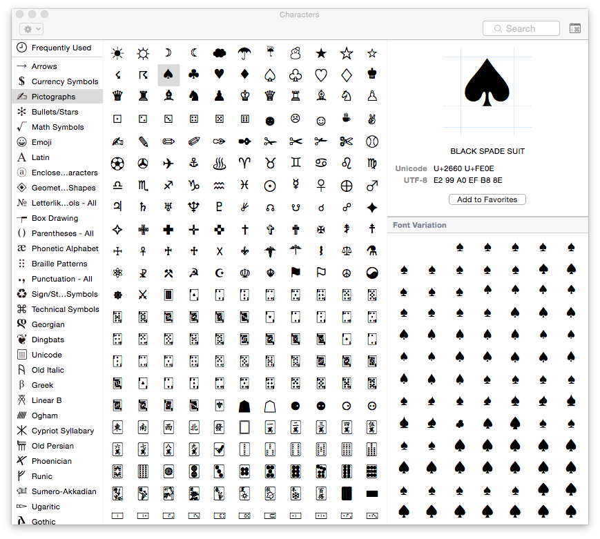 Spade Keyboard Symbol Images Meaning Of This Symbol