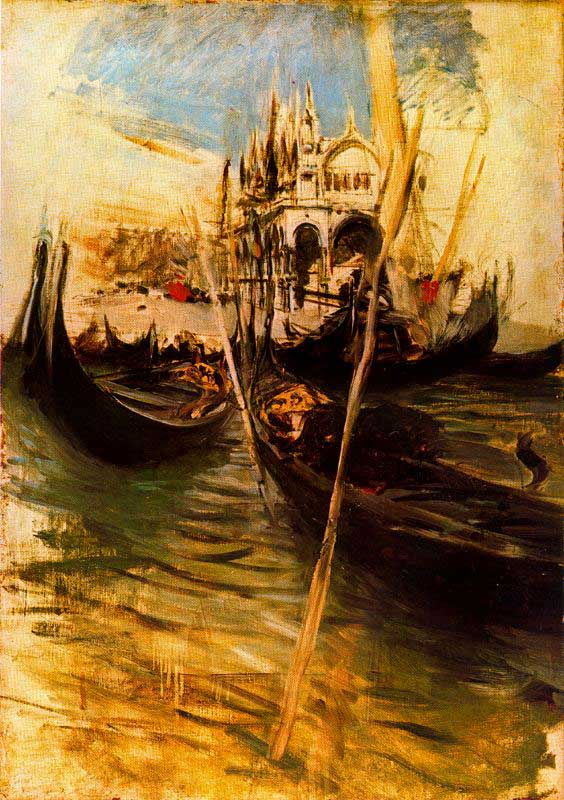 Giovanni Boldini (1842-1931), San Marco in Venice (1895), oil on canvas, dimensions not known, location not known. WikiArt.
