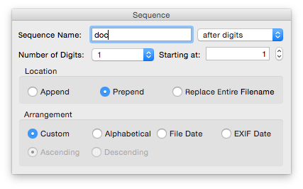 How to rename batches of files – The Eclectic Light Company