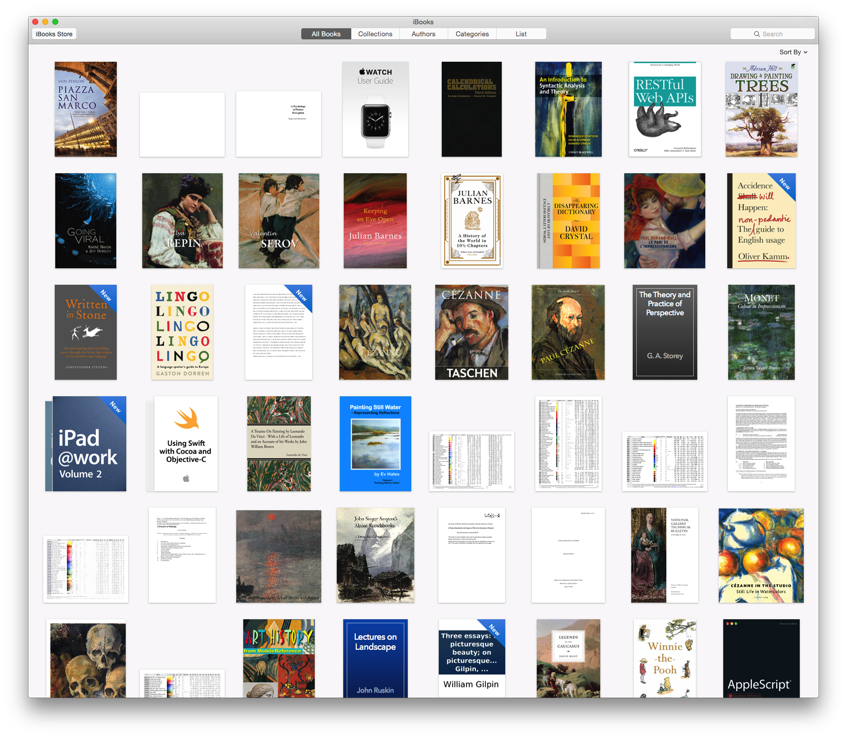 The iBooks app, free from the Mac App Store, now controls your book library, although books are still synced by iTunes itself.