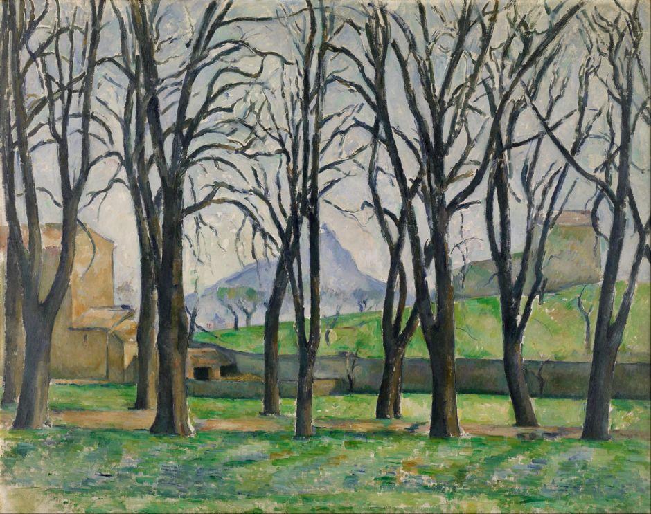 cézannechestnuttreesjasdebouffan1886