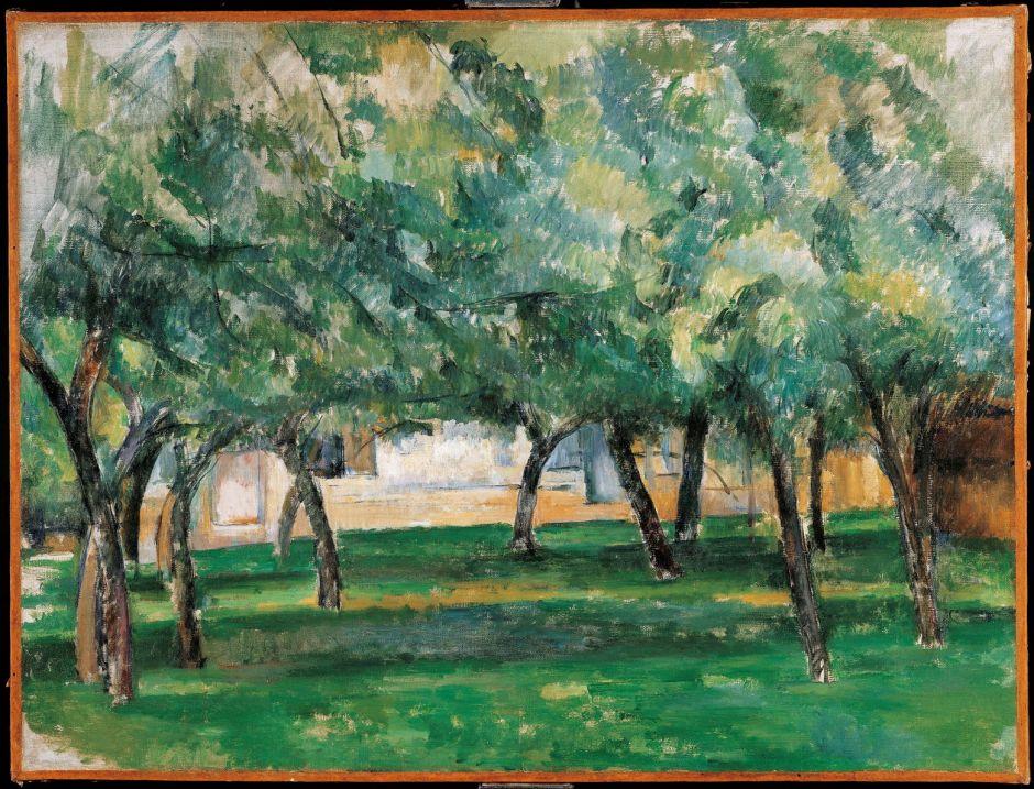 cézannefarmnormandy1882