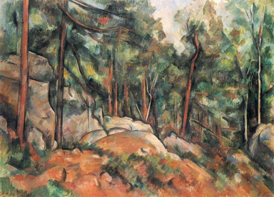 cézanneinterieurforêt1899