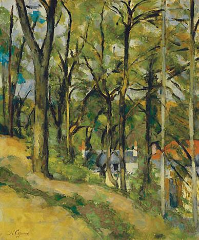 cézanneorchardcotesaintdenis1877