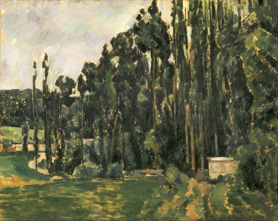 cézannepoplars1880