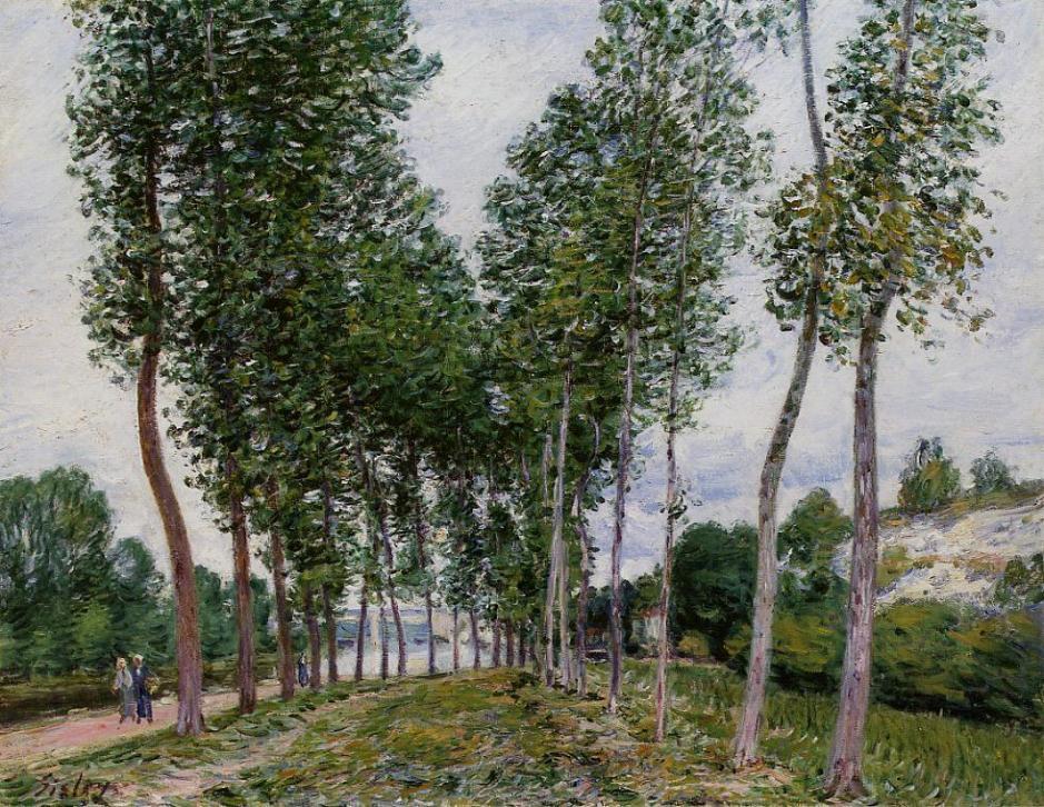 sisleylanepoplarsbanksloing1892