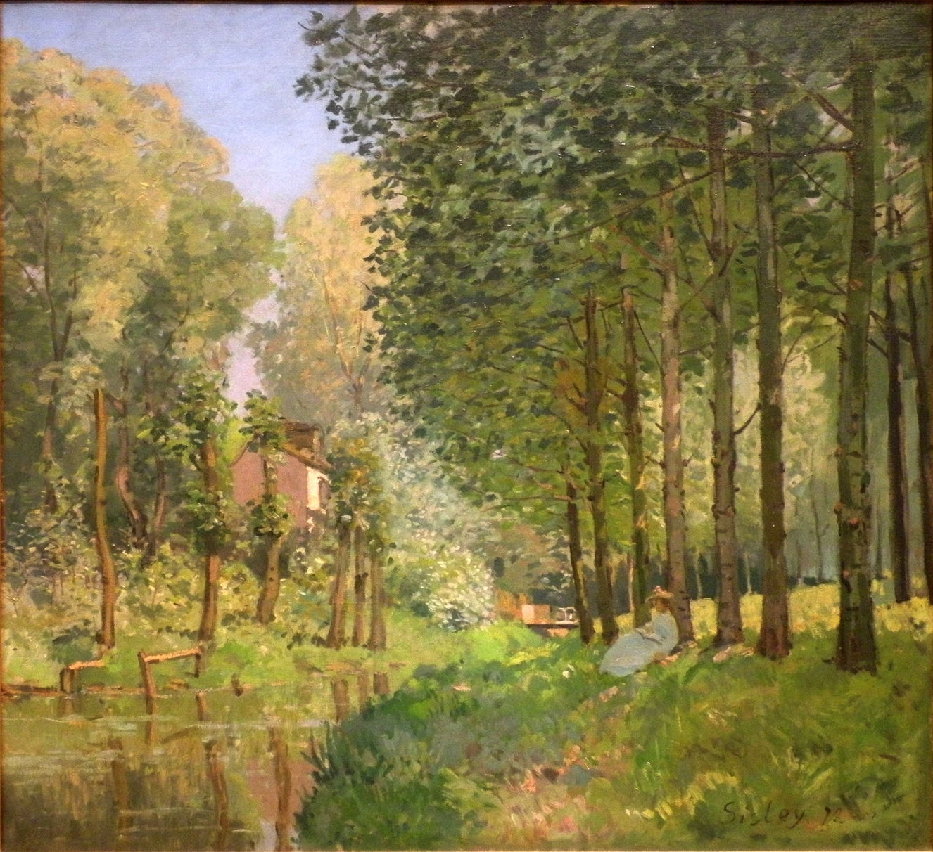 Trees in the landscape: 7. Alfred Sisley and the poplars ...