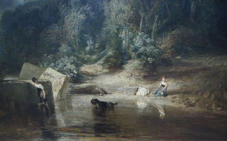 Joseph Mallord William Turner, Crossing the Brook (detail) (1815), oil on canvas, 193 x 165.1 cm, Tate Britain, London (N00497). EHN & DIJ Oakley.