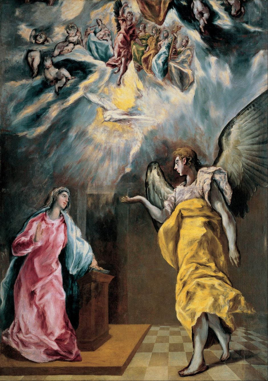 elgrecoannunciation