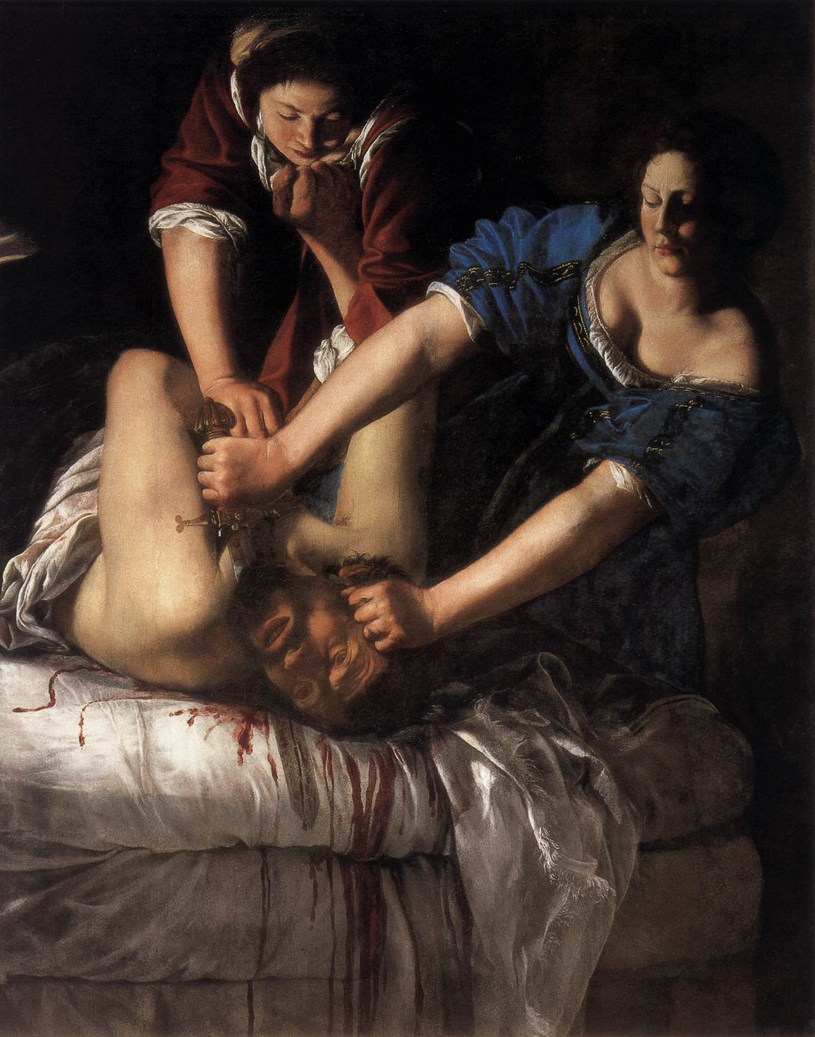 Judith and the maidservant with the head of holofernes is from what story
