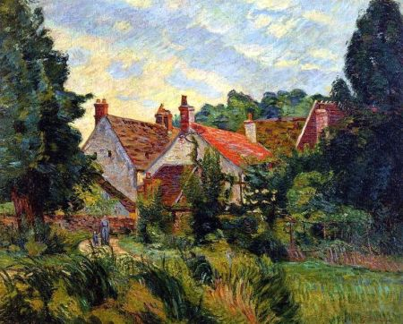 Armand Guillaumin (1841-1927), Epinay-sur-Orge (c 1884), oil on canvas, 58.4 x 71.1 cm, Private collection. Wikimedia Commons.