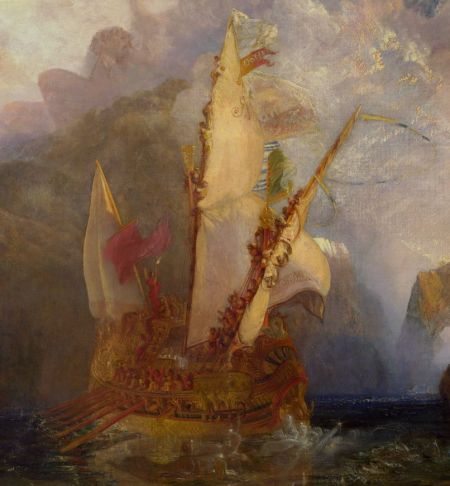 Joseph Mallord William Turner (1775–1851), Ulysses Deriding Polyphemus (detail) (1829), oil on canvas, 132.7 × 203 cm, The National Gallery, London. Wikimedia Commons.