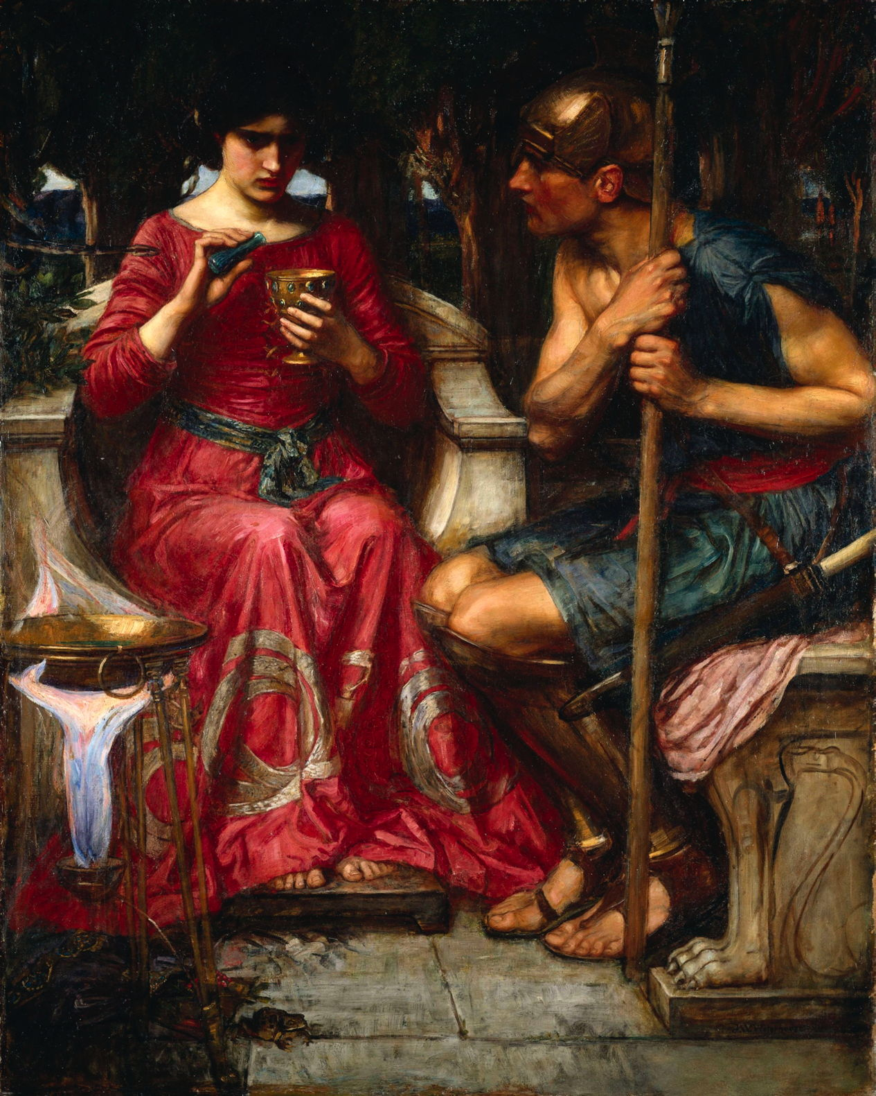 Antyki I Sztuka Greek Mythology Circe Offers Cup To Odysseus