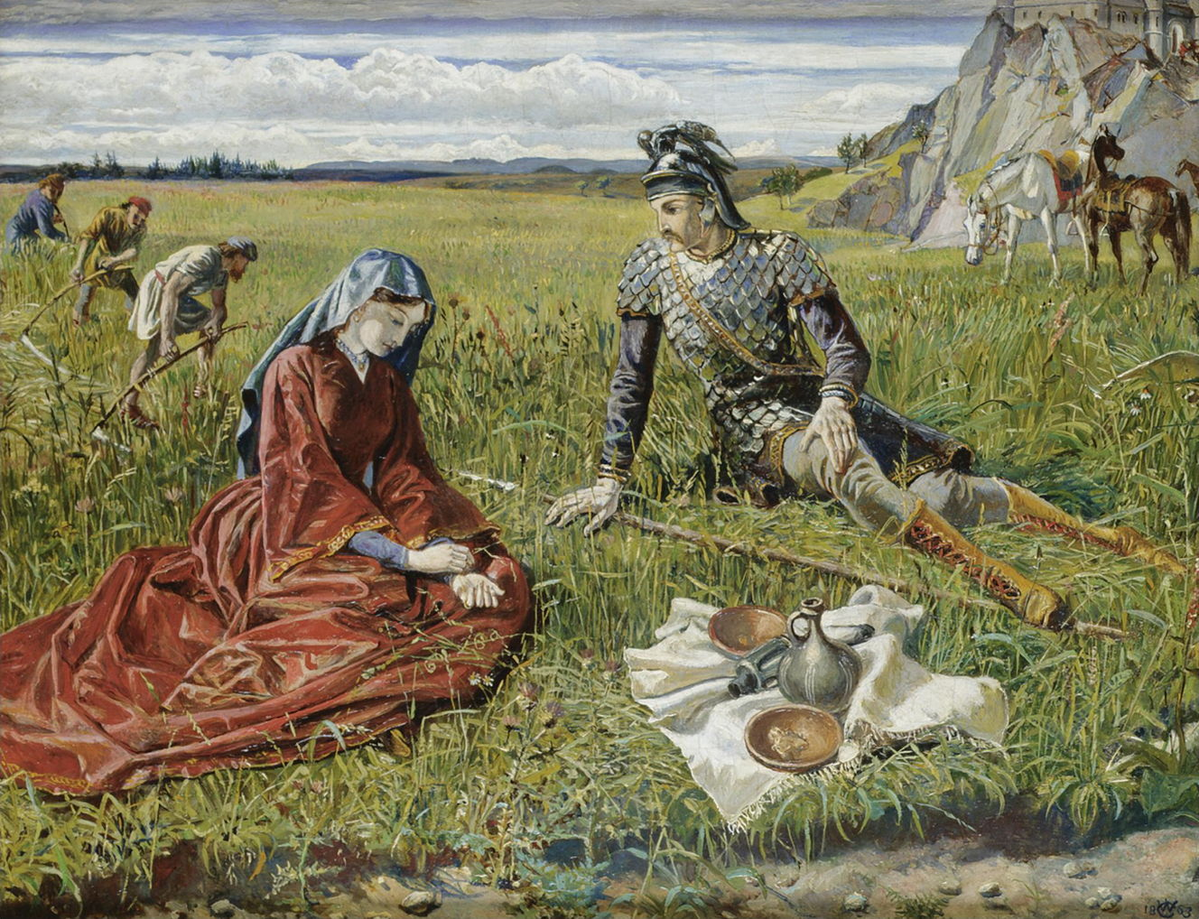 The Story In Paintings Walter Crane Between Illustration And