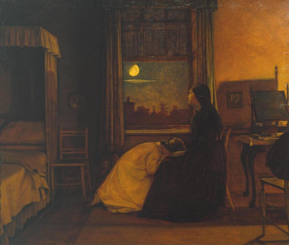 Past and Present, No. 2 1858 by Augustus Leopold Egg 1816-1863