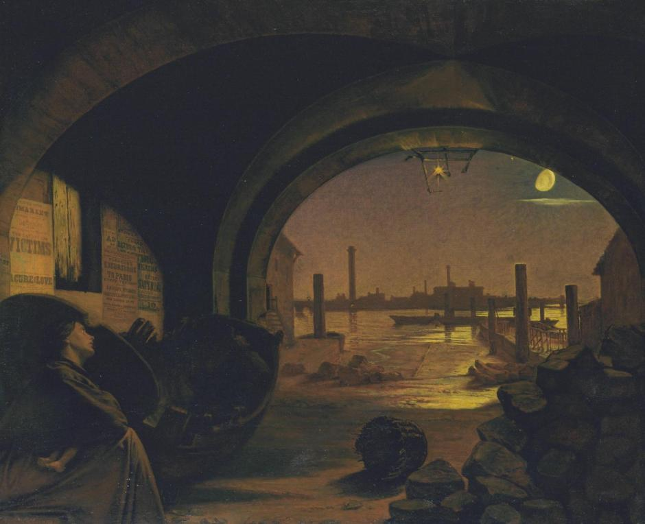 Past and Present, No. 3 1858 by Augustus Leopold Egg 1816-1863