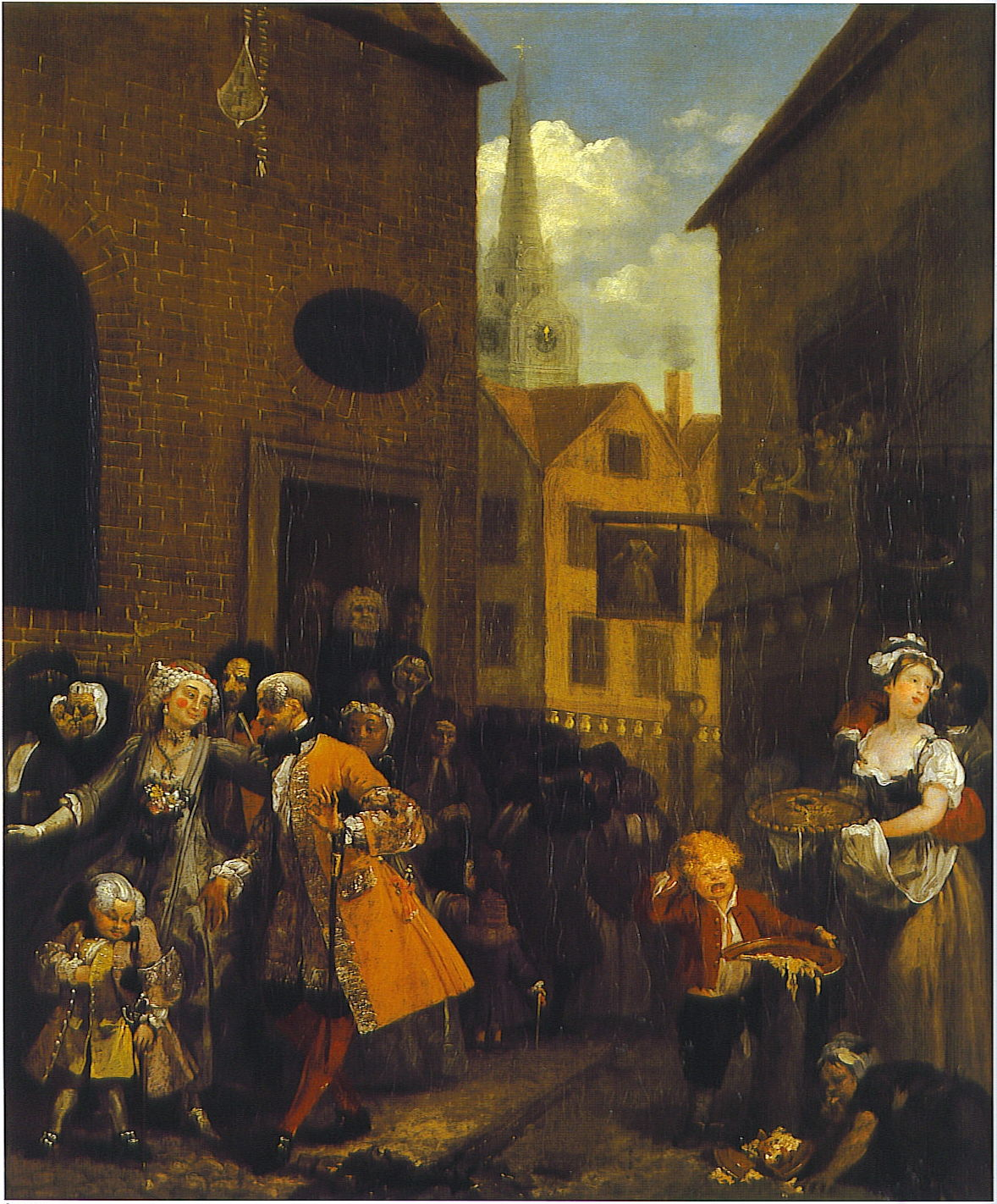 The story in paintings painting to the music of time for William hogarth was noted for painting
