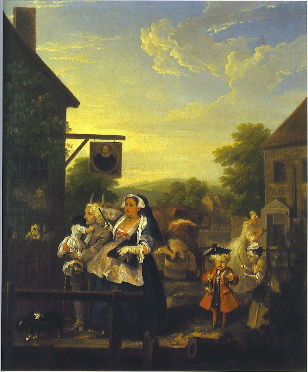 The Story In Paintings: Hogarth's Marriage And The