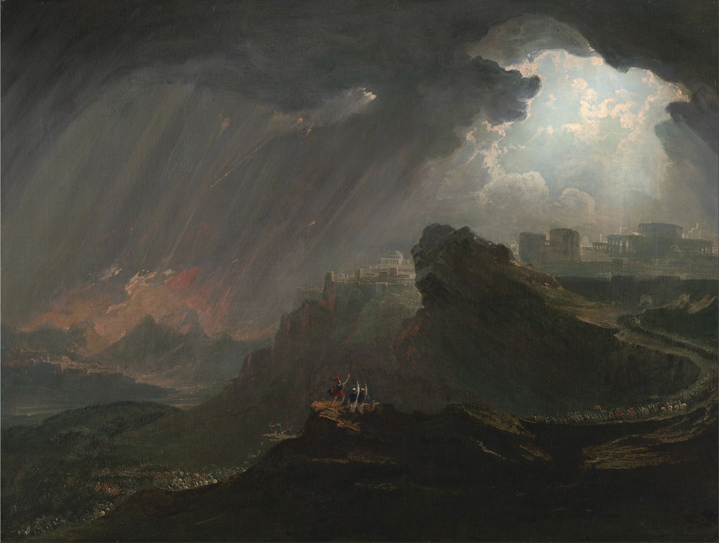 The Story In Paintings John Martin More Than The