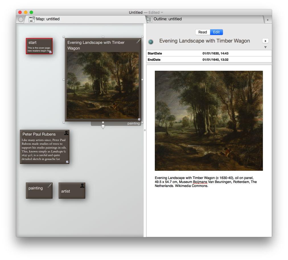 Storyspace versus tinderbox dating