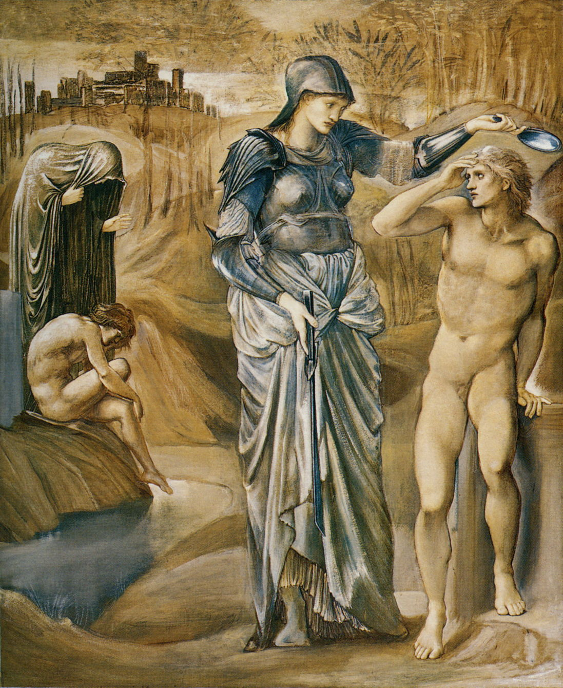 The Story In Paintings Perseus And Edward Burne Jones 2