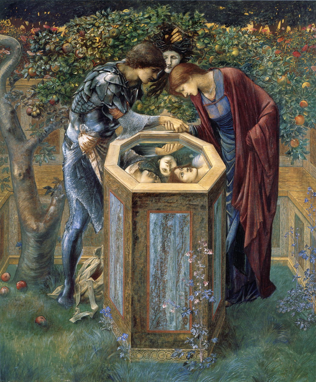 The Story In Paintings Perseus And Edward Burne Jones