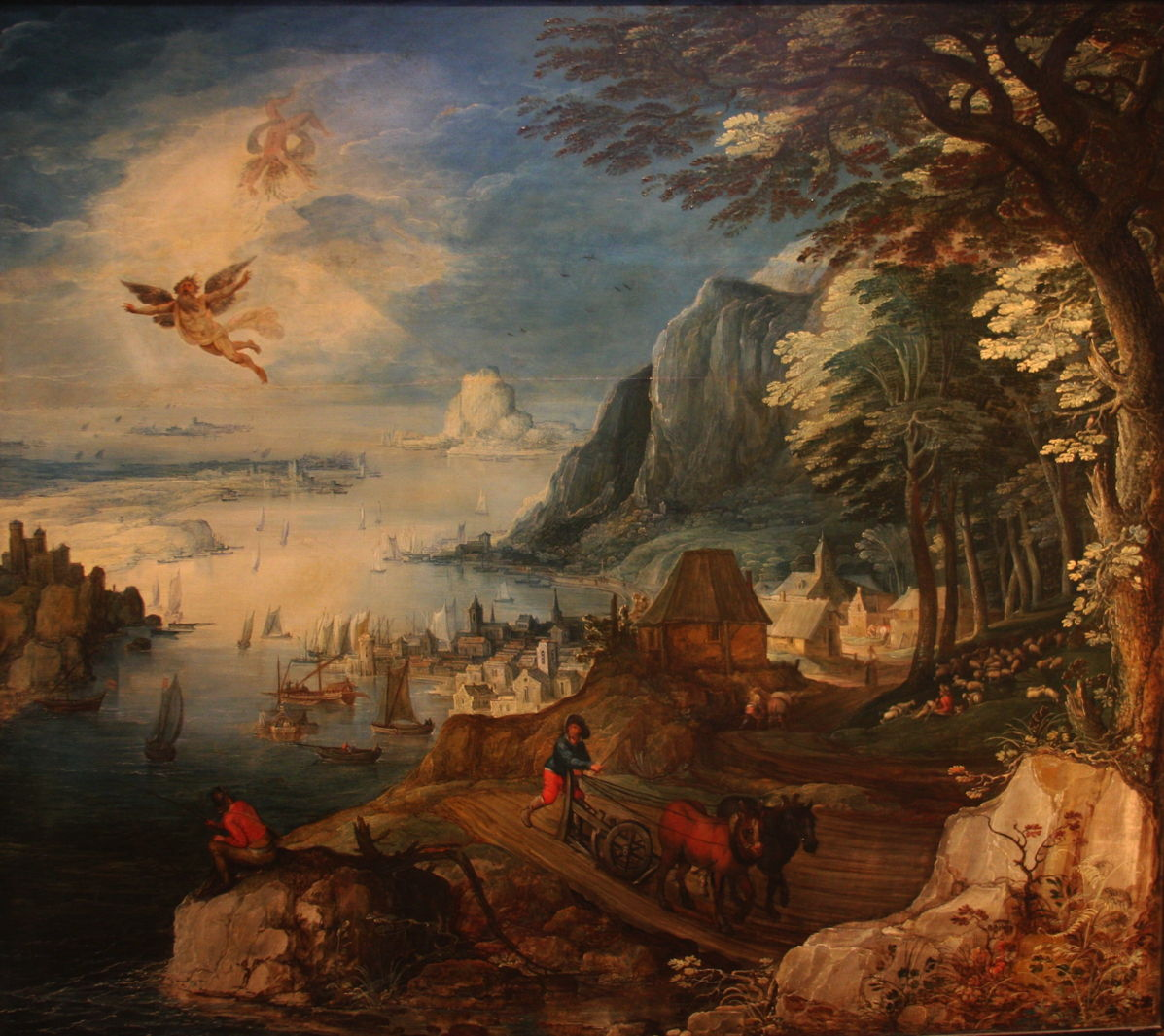 The Fall Of Icarus Painting by Granger   Icarus Paintings Involving