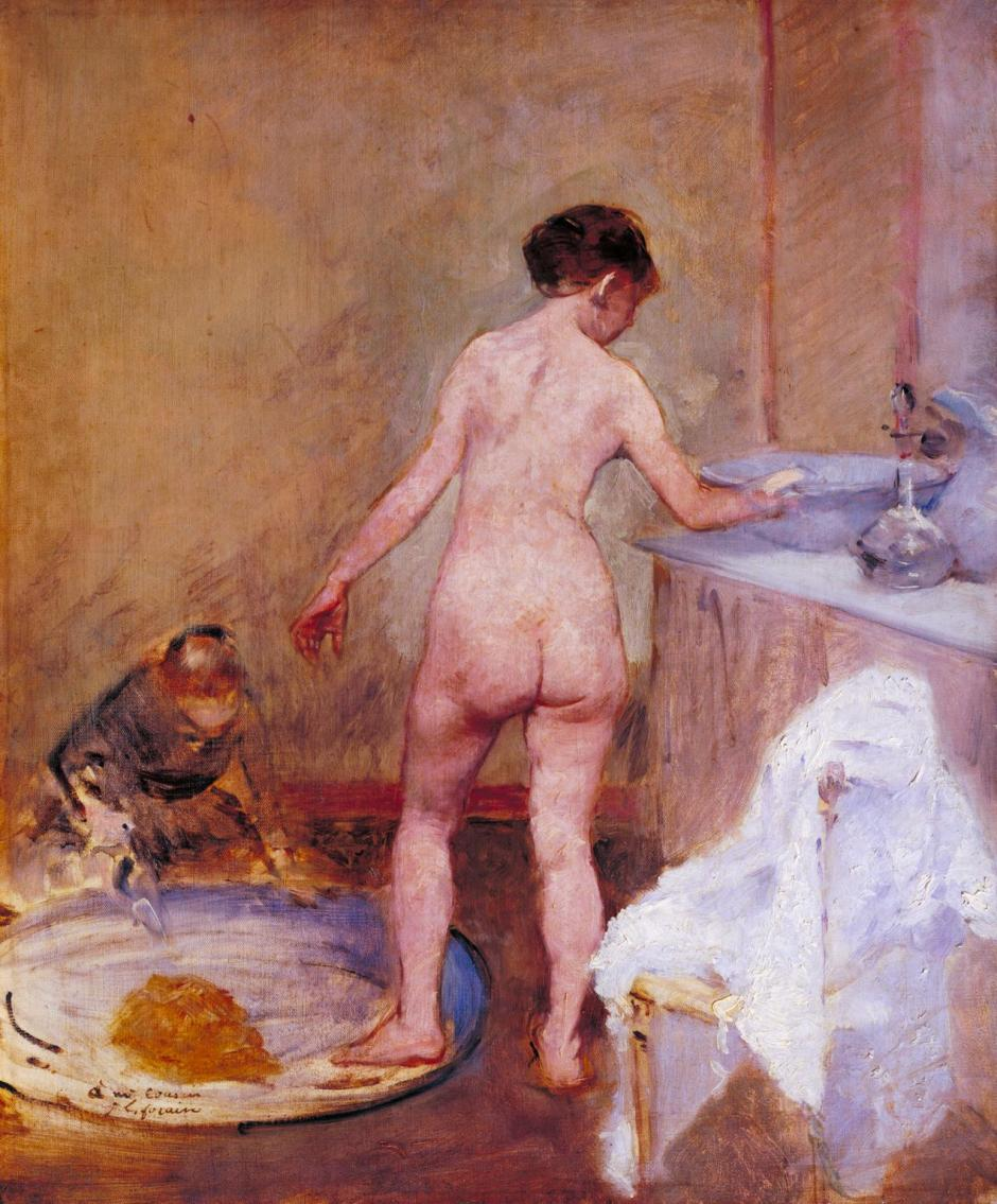 The Tub c.1886-7 by Jean-Louis Forain 1852-1931