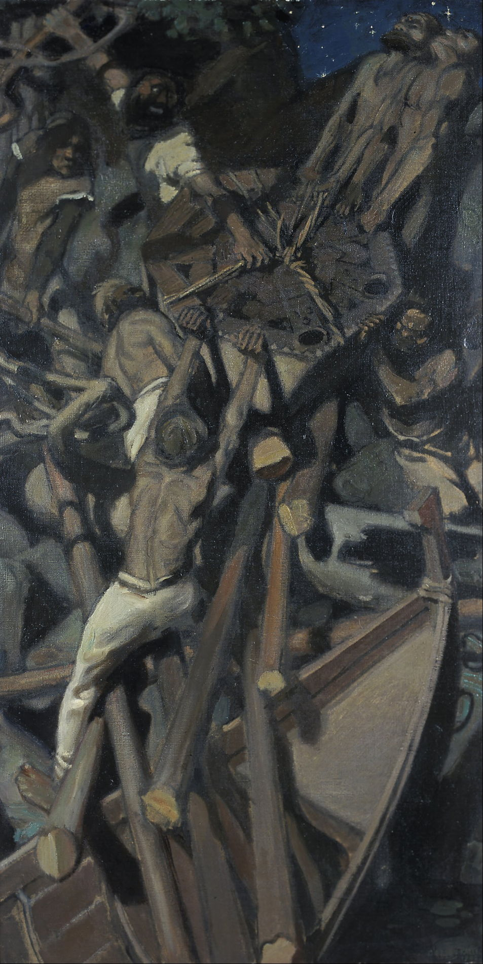 The Story In Paintings Kalevala Finland S Epic 2 The