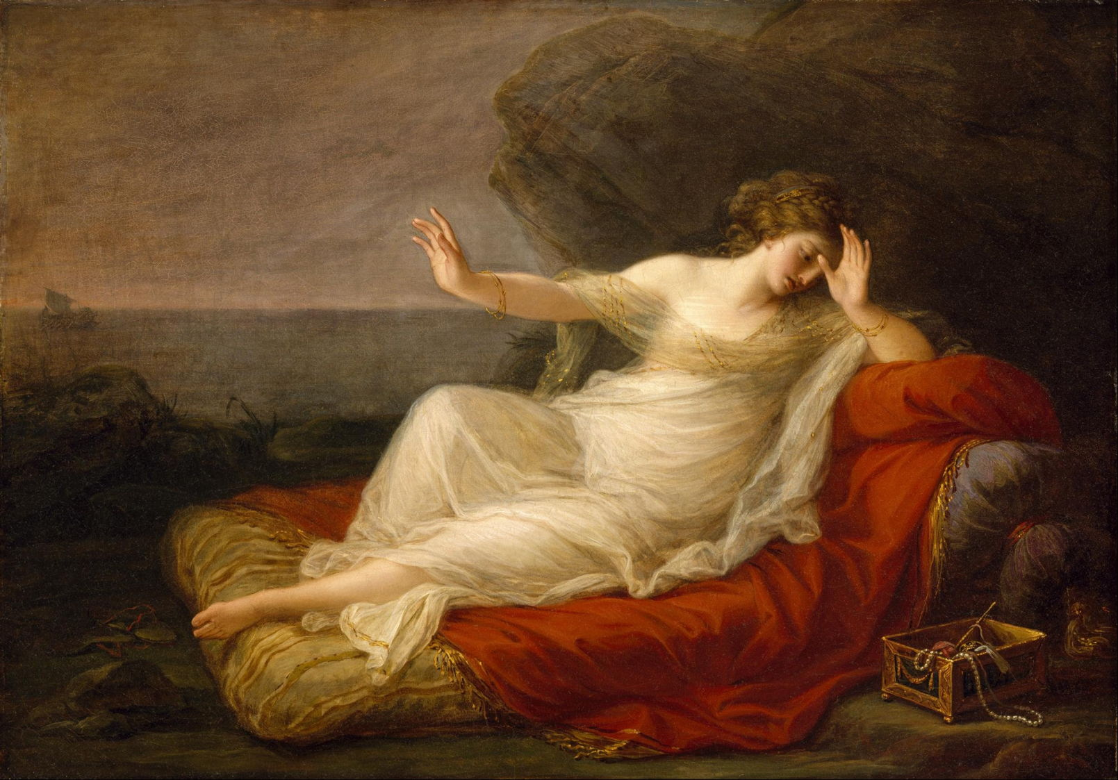 The Story in Paintings: Ariadne on Naxos – The Eclectic Light Company