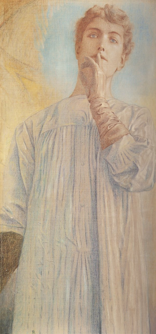 Into The Light Fernand Khnopff More Than A Portrait