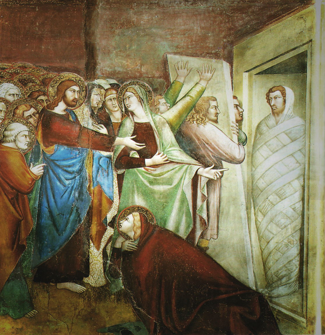 the raising of lazarus Reiterate that even though mary and martha didn't understand the reason jesus allowed lazarus to die, his plan of raising lazarus  the resurrection of lazarus.