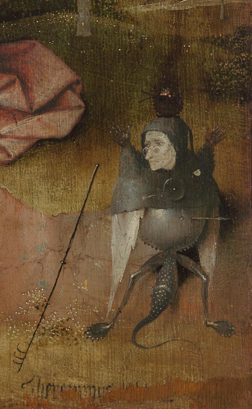 """تفصيل من لوحة """"يوحنا في بطمس"""""""