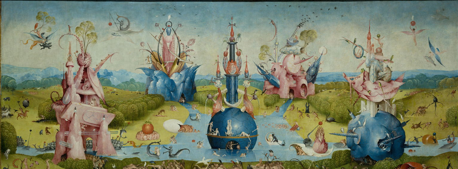 Hieronymus Bosch: The Garden of Earthly Delights, part 1 ...