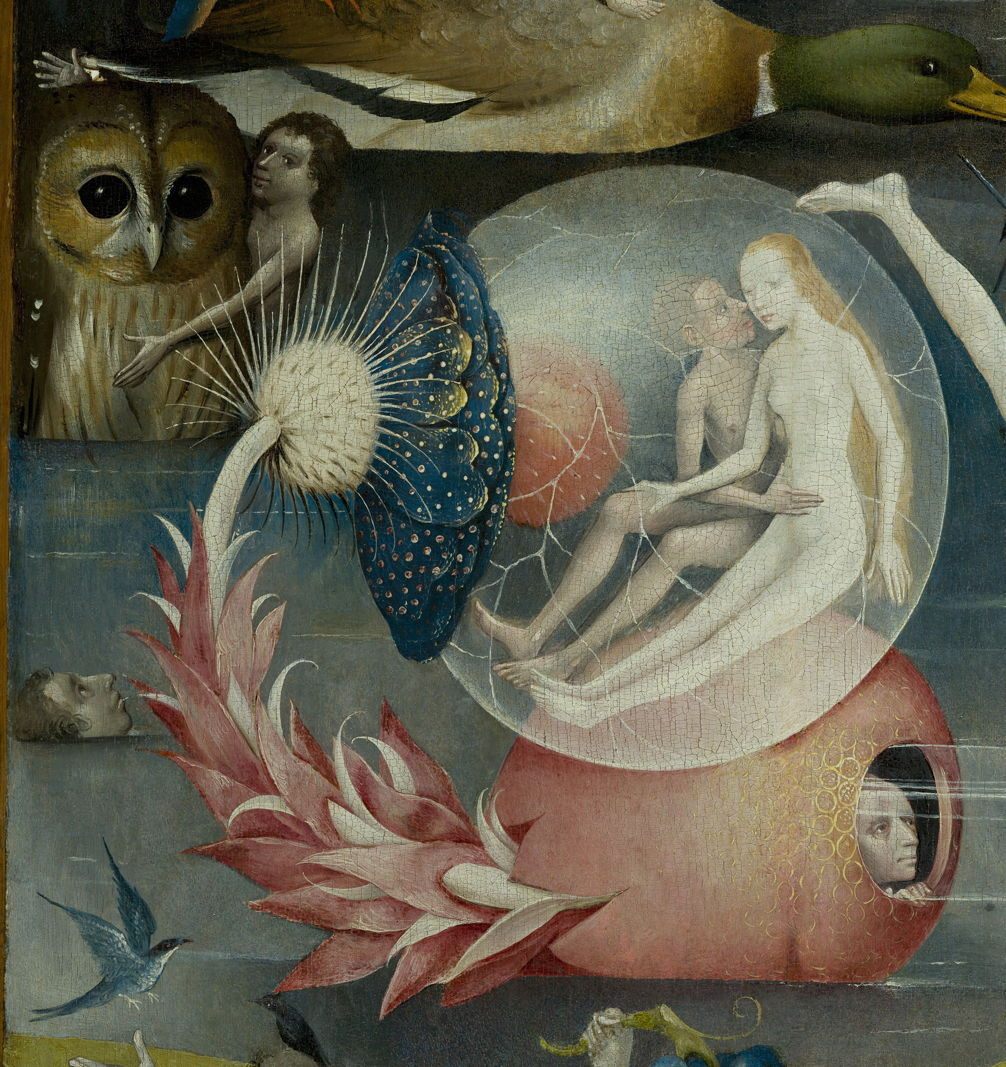 Hieronymus Bosch (c 1450u20131516), The Garden Of Earthly Delights (centre  Panel, Detail) (c 1495 1505), Oil On Oak Panel, Central Panel 190 × 175 Cm,  ...