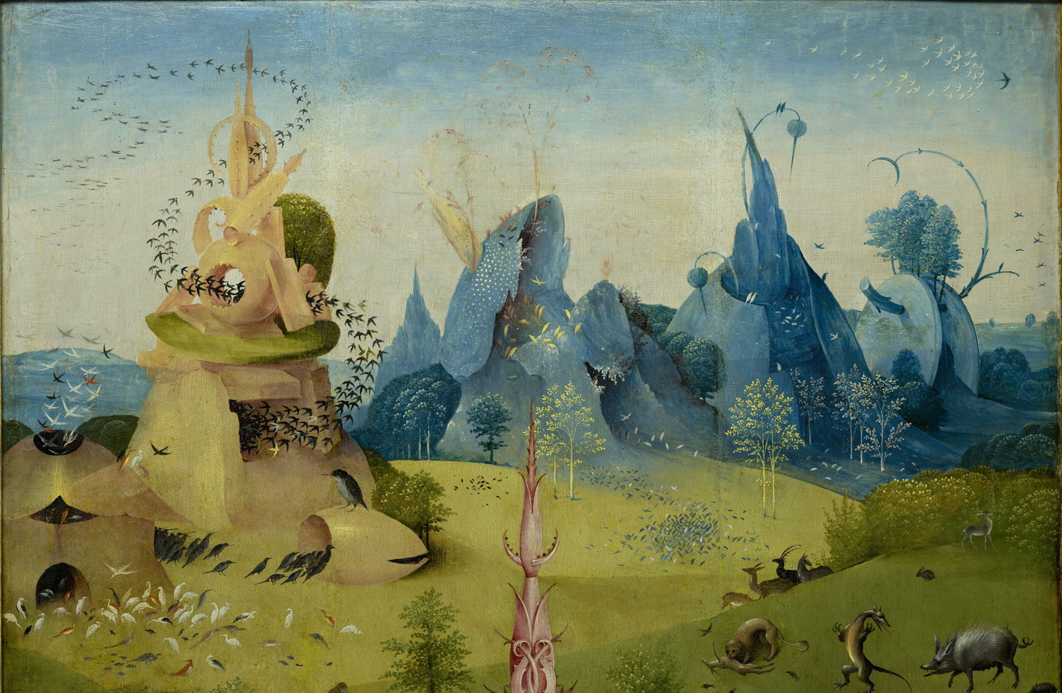 Hieronymus Bosch The Garden Of Earthly Delights Part 1