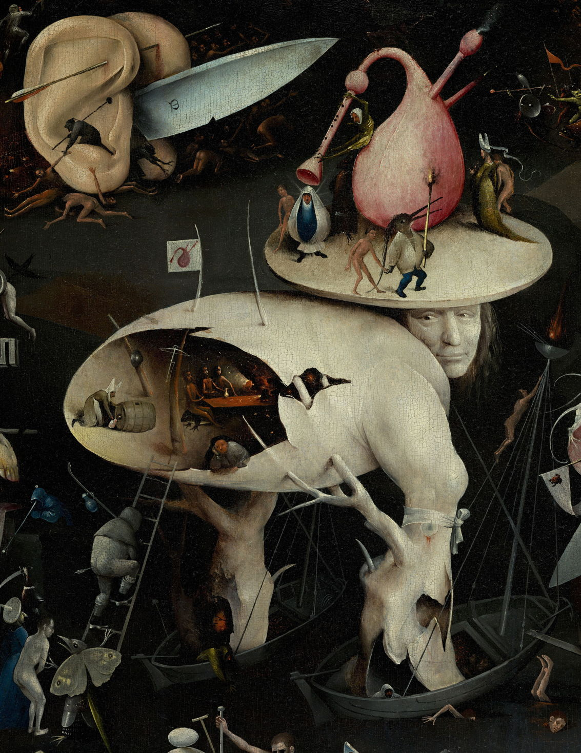 Hieronymus Bosch The Garden Of Earthly Delights Part 1 The Eclectic Light Company