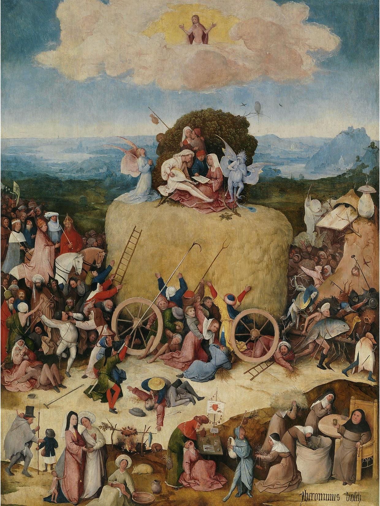 Hieronymus Bosch The Haywain Prado The Eclectic Light