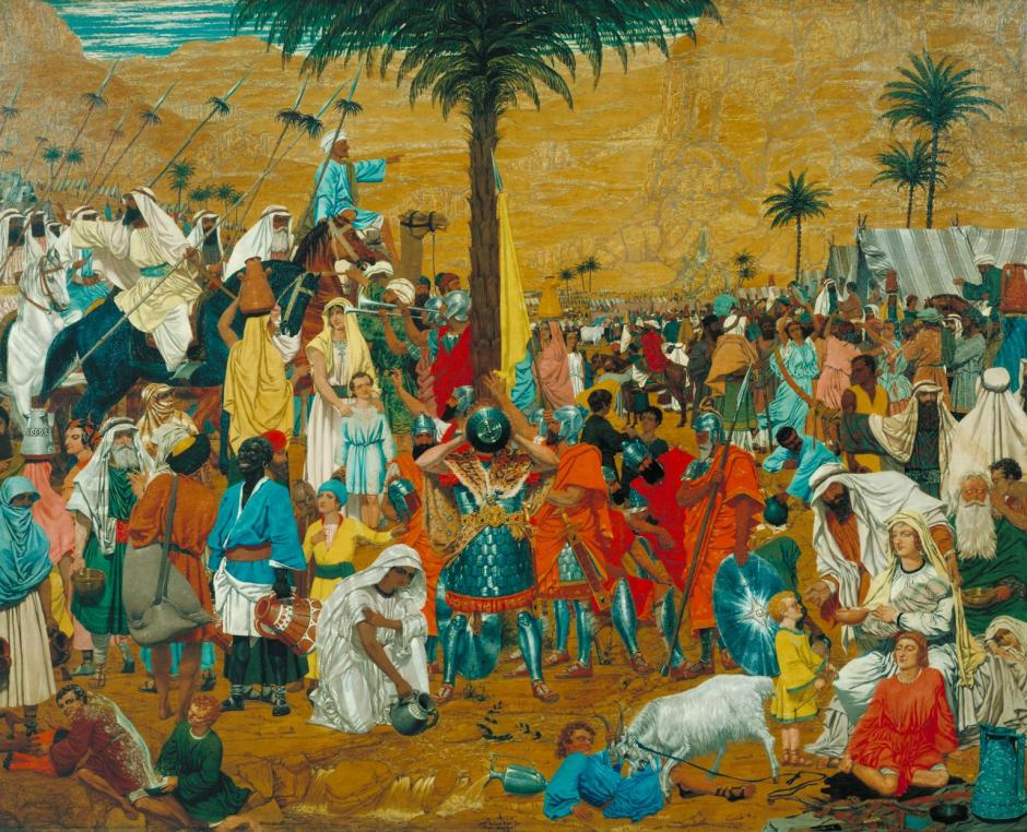 The Flight out of Egypt 1849-50 by Richard Dadd 1817-1886